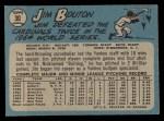 1965 O-Pee-Chee #30  Jim Bouton  Back Thumbnail
