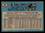 1965 O-Pee-Chee #80  Turk Farrell  Back Thumbnail