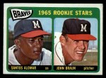 1965 O-Pee-Chee #82   -  Sandy Alomar / John Braun Braves Rookies Front Thumbnail