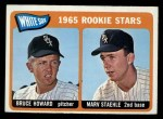1965 O-Pee-Chee #41   -  Bruce Howard / Marv Staehle White Sox Rookies Front Thumbnail