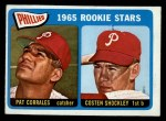 1965 O-Pee-Chee #107   -  Pat Corrales / Costen Shockley Phillies Rookies Front Thumbnail