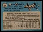1965 O-Pee-Chee #140  Dean Chance  Back Thumbnail
