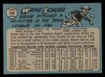 1965 O-Pee-Chee #149  Wayne Schurr  Back Thumbnail