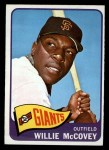 1965 O-Pee-Chee #176  Willie McCovey  Front Thumbnail