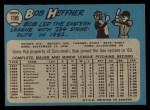 1965 O-Pee-Chee #199  Bob Heffner  Back Thumbnail