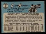 1965 O-Pee-Chee #48  Claude Raymond  Back Thumbnail