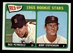1965 O-Pee-Chee #74   -  Rico Petrocelli / Jerry Stephenson Red Sox Rookies Front Thumbnail