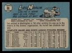 1965 O-Pee-Chee #86  Buster Narum  Back Thumbnail