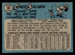 1965 O-Pee-Chee #105  Chico Salmon  Back Thumbnail
