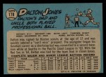 1965 O-Pee-Chee #178  Dalton Jones  Back Thumbnail
