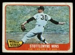 1965 O-Pee-Chee #133   -  Mel Stottlemyre 1964 World Series - Game #2 - Stottlemyre Wins Front Thumbnail
