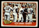 1965 O-Pee-Chee #136   -  Tim McCarver / Bill White / Dick Groat / Mike Shannon 1964 World Series - Game #5 - 10th Inning Triumph Front Thumbnail