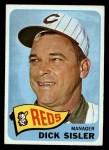 1965 O-Pee-Chee #158  Dick Sisler  Front Thumbnail