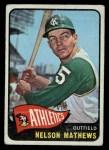 1965 O-Pee-Chee #87  Nelson Mathews  Front Thumbnail