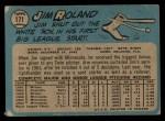 1965 O-Pee-Chee #171  Jim Roland  Back Thumbnail