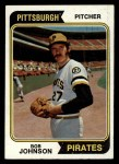 1974 Topps #269  Bob Johnson  Front Thumbnail