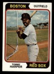 1974 Topps #325  Tommy Harper  Front Thumbnail