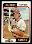 1974 Topps #370  Bob Watson  Front Thumbnail