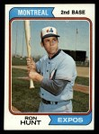 1974 Topps #275  Ron Hunt  Front Thumbnail