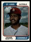 1974 Topps #285  Reggie Smith  Front Thumbnail