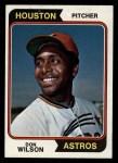 1974 Topps #304  Don Wilson  Front Thumbnail