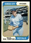 1974 Topps #308  Bruce Dal Canton  Front Thumbnail