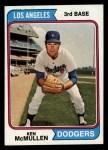 1974 Topps #434  Ken McMullen  Front Thumbnail