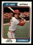 1974 Topps #464  Jose Cruz  Front Thumbnail