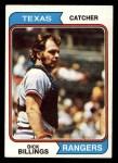 1974 Topps #466  Dick Billings  Front Thumbnail