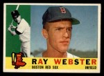1960 Topps #452  Ray Webster  Front Thumbnail