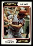 1974 Topps #395  Doug Rader  Front Thumbnail