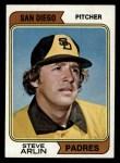 1974 Topps #406  Steve Arlin  Front Thumbnail