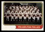 1974 Topps #383   Phillies Team Front Thumbnail