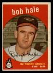 1959 Topps #507  Bob Hale  Front Thumbnail