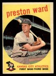 1959 Topps #176  Preston Ward  Front Thumbnail