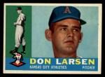 1960 Topps #353  Don Larsen  Front Thumbnail