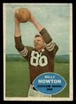 1960 Topps #27  Bill BillyHowton  Front Thumbnail