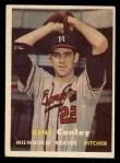 1957 Topps #28  Gene Conley  Front Thumbnail