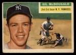 1956 Topps #225  Gil McDougald  Front Thumbnail