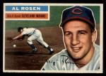 1956 Topps #35  Al Rosen  Front Thumbnail