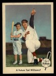 1959 Fleer #69   -  Ted Williams Future Ted Williams? Front Thumbnail