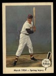 1959 Fleer #50   -  Ted Williams Spring Injury Front Thumbnail