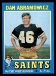 1971 Topps #90  Dan Abramowicz  Front Thumbnail