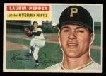 1956 Topps #108 GRY Laurin Pepper  Front Thumbnail