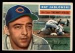 1956 Topps #86  Ray Jablonski  Front Thumbnail
