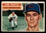 1956 Topps #102  Jim Davis  Front Thumbnail