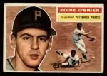 1956 Topps #116 GRY Eddie O'Brien  Front Thumbnail
