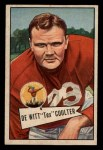 1952 Bowman Small #71  DeWitt Tex Coulter  Front Thumbnail