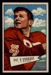 1952 Bowman Small #117  Jim O'Donahue  Front Thumbnail