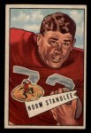 1952 Bowman Small #42  Norm Standlee  Front Thumbnail